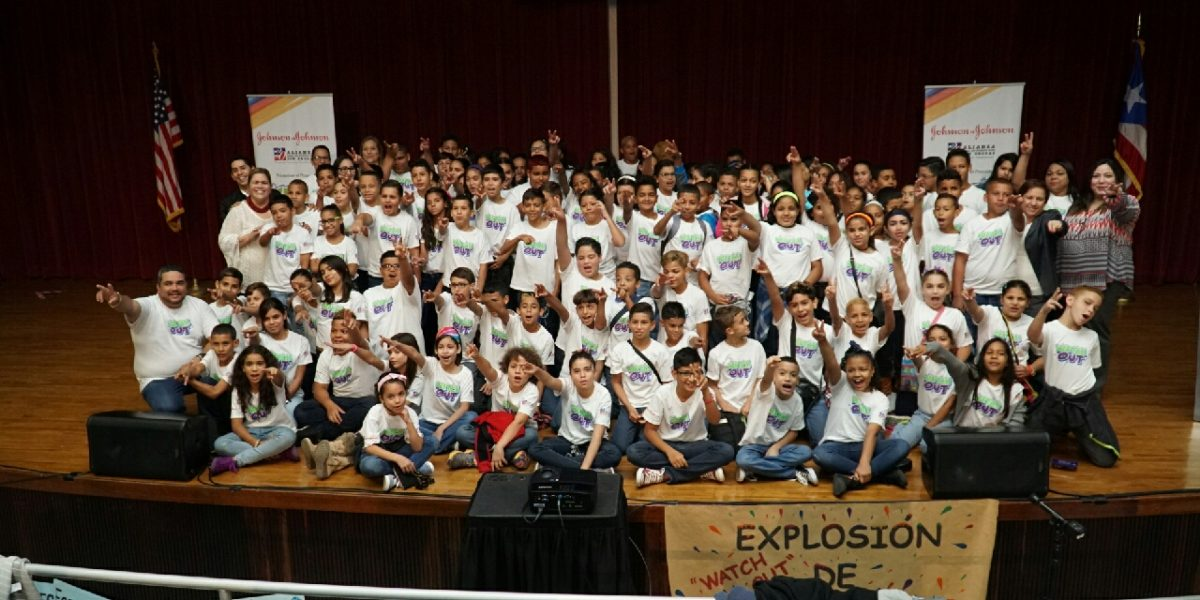 Estudiantes llevan mensaje de prevención sobre uso y tráfico de drogas