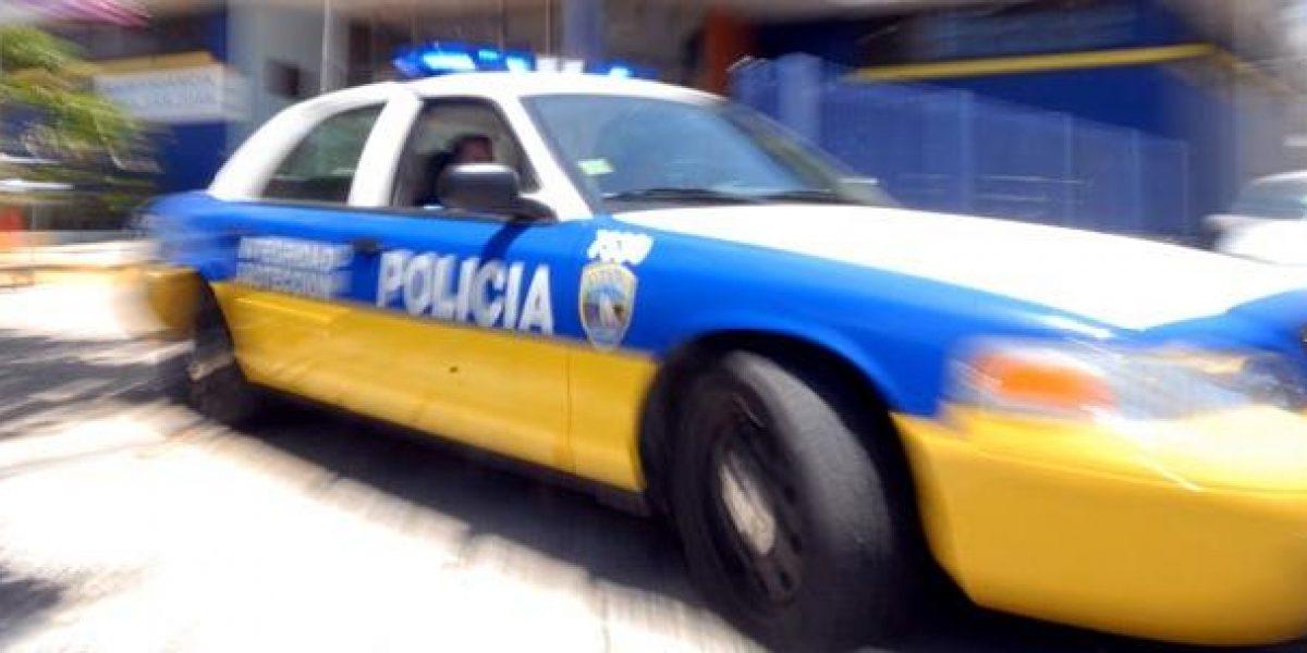 Robo de auto en el Moscoso termina en choque frente a la federal