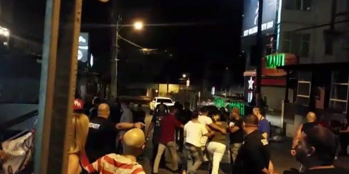 [Vídeo] Pelea cerca de la Placita de Santurce deja herida abierta a turista