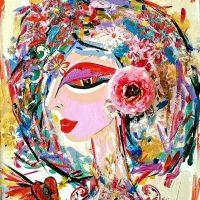 Obra de Lex Tirado: La Flor de Elba / Suministrada. Imagen Por: Obra de Lex Tirado: La Flor de Elba / Suministrada