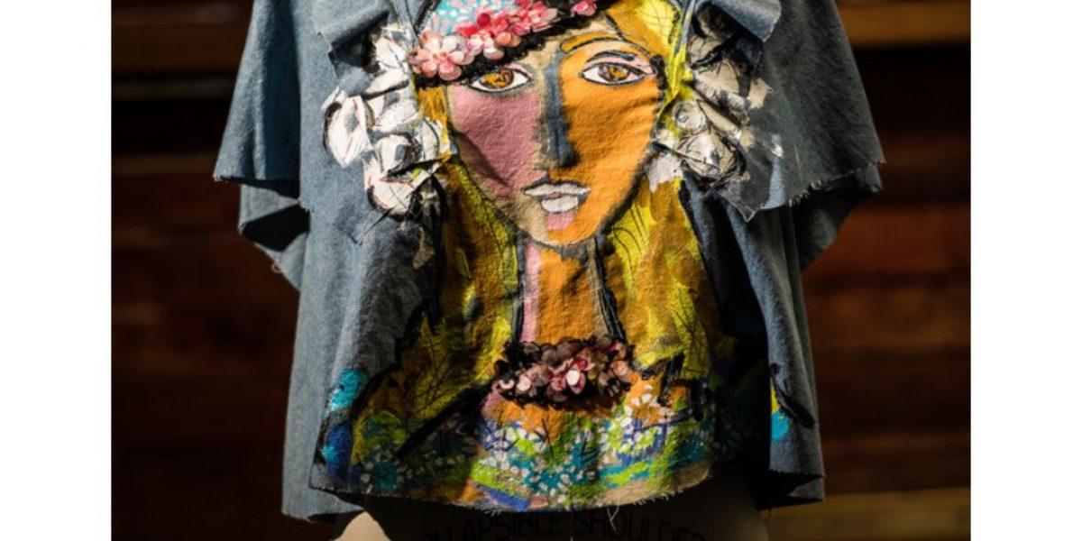 La magia de fusionar el diseño de moda, la costura y el arte