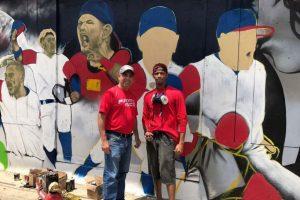 Arte urbano honra a #LosNuestros en Vega Alta