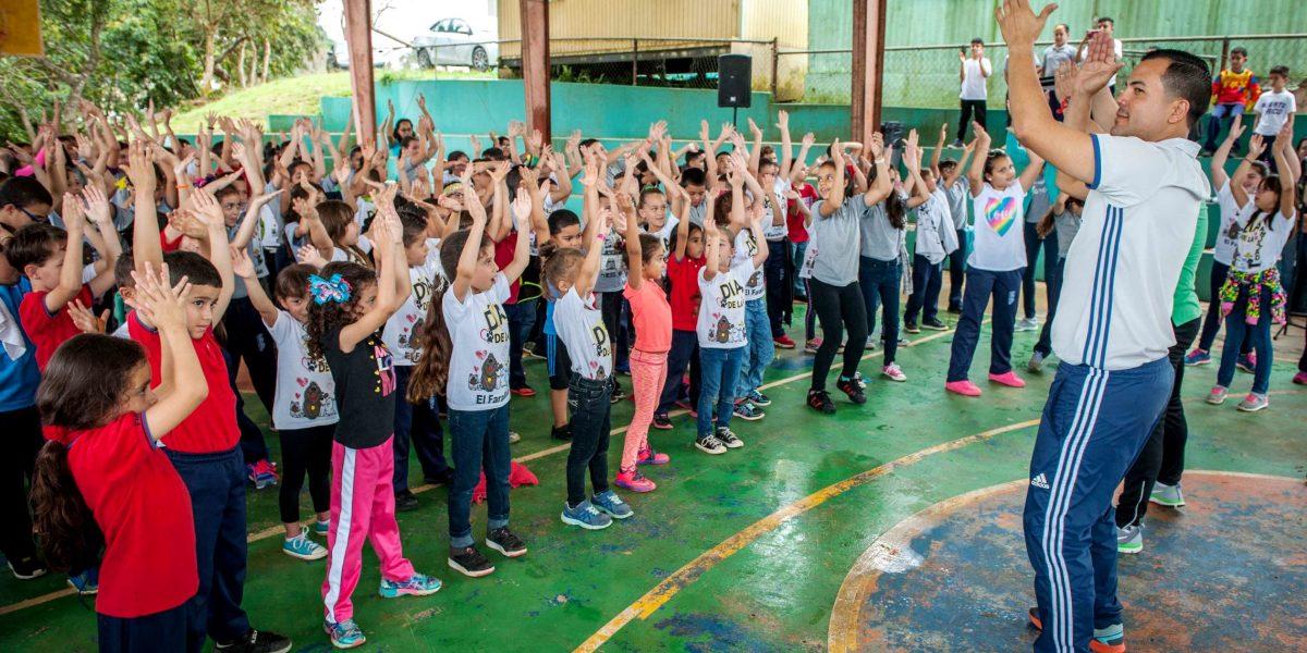Promueven estilo de vida saludable entre niños