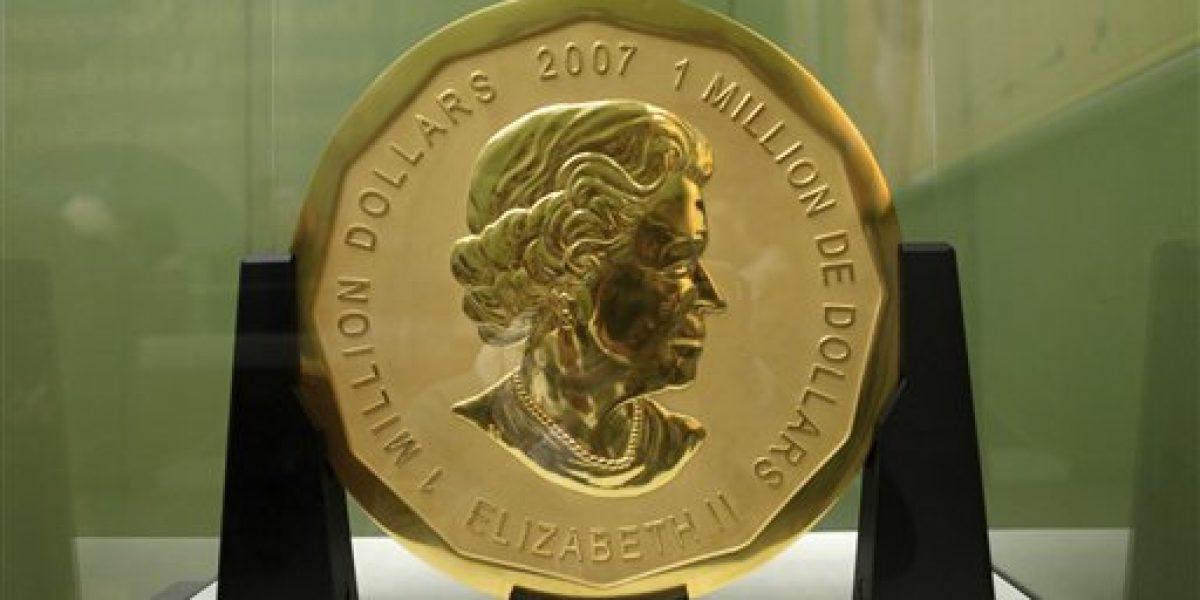 Roban una inmensa moneda de oro de museo alemán