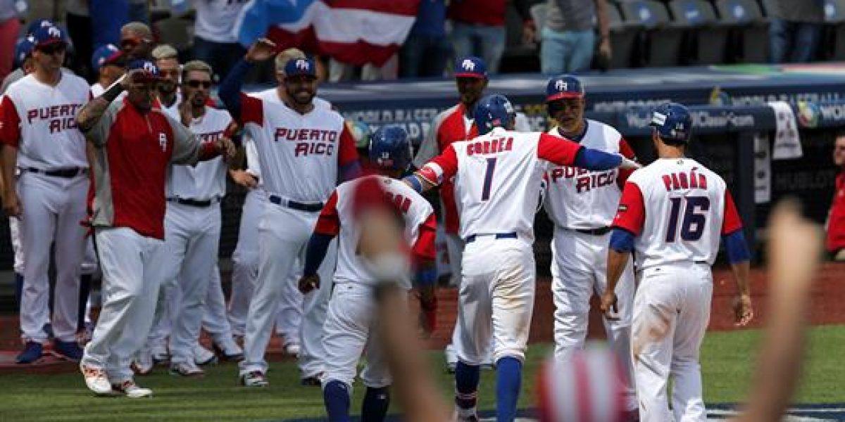 Puerto Rico escala una posición en ranking mundial de béisbol