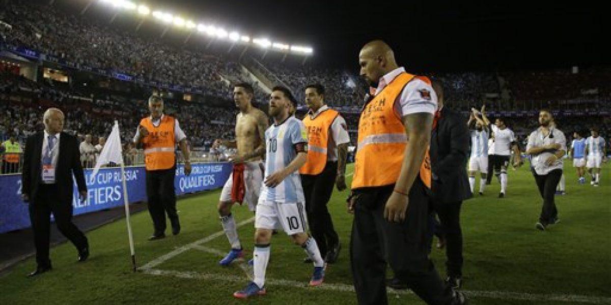 Suspenden a Lionel Messi por cuatro partidos de eliminatorias