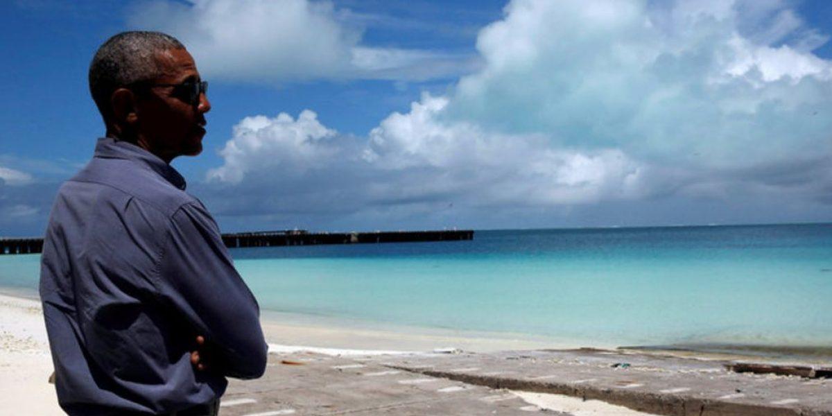 El paraíso donde Obama escribe sus memorias
