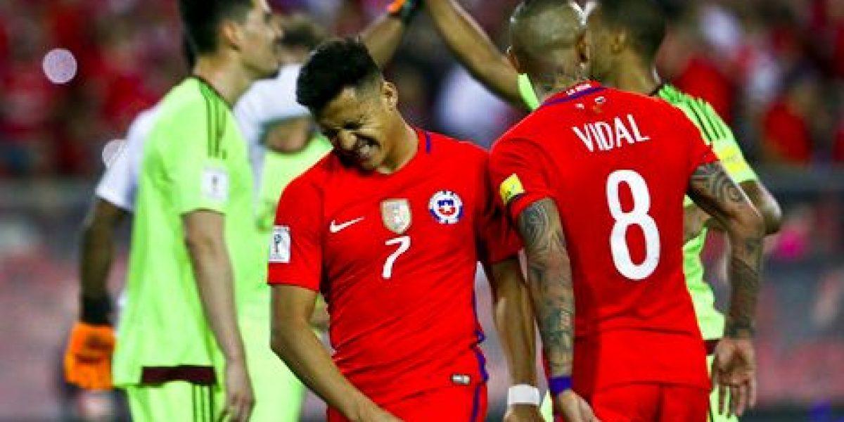 Chile vence a Venezuela y vuelve a zona de clasificación
