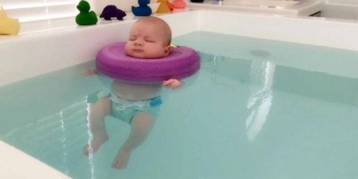 El lugar donde los bebés liberan el estrés