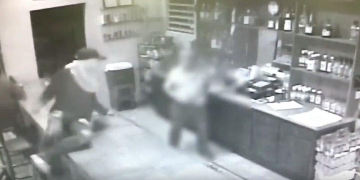 Dilvulgan video de robo de película en negocio de Río Grande
