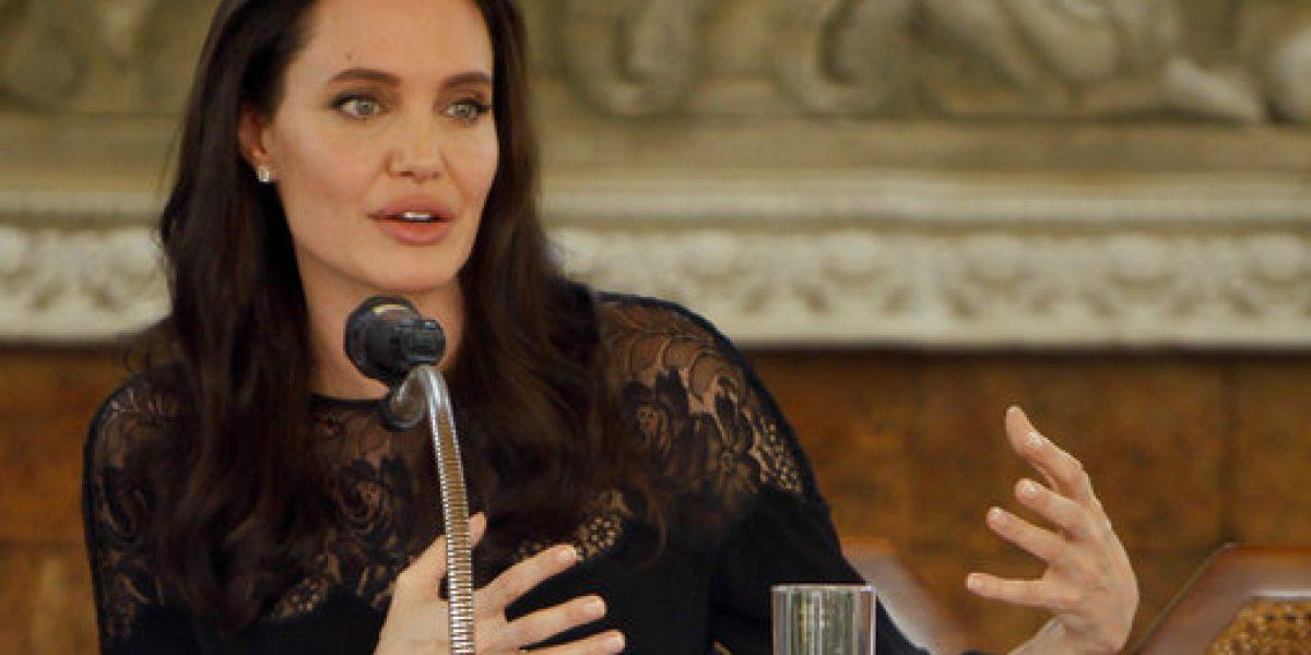 Angelina Jolie se sometió a pruebas de drogas en