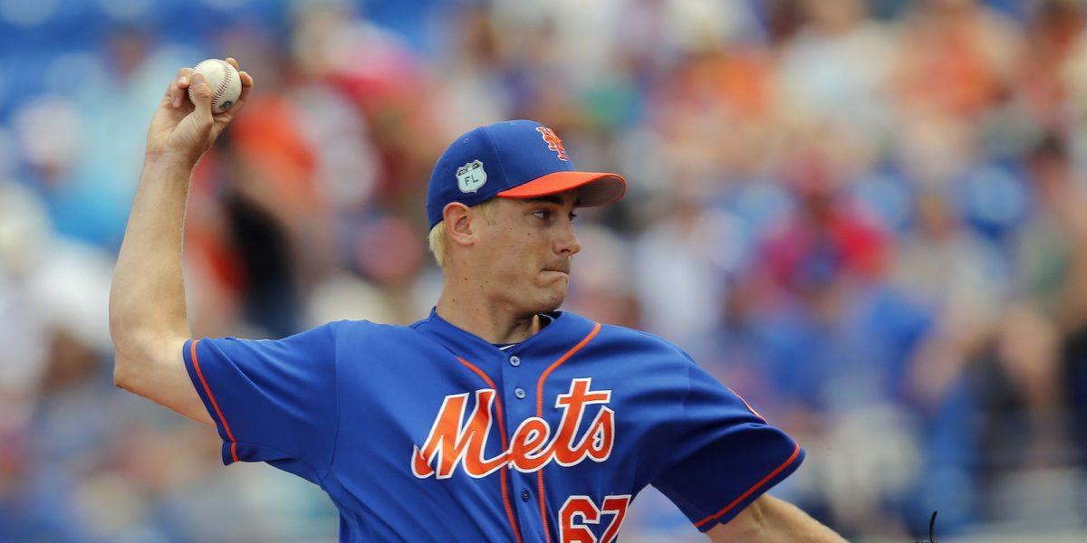 Seth Lugo batalla por último puesto de lanzadores en los Mets