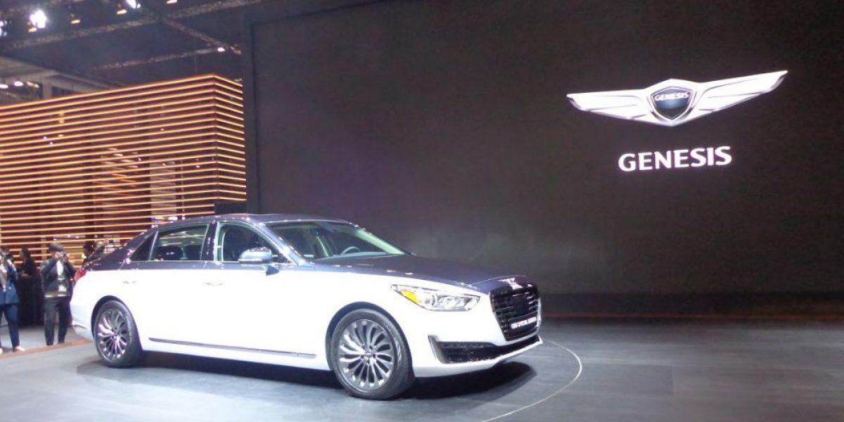Así luce la edición especial del Genesis G90