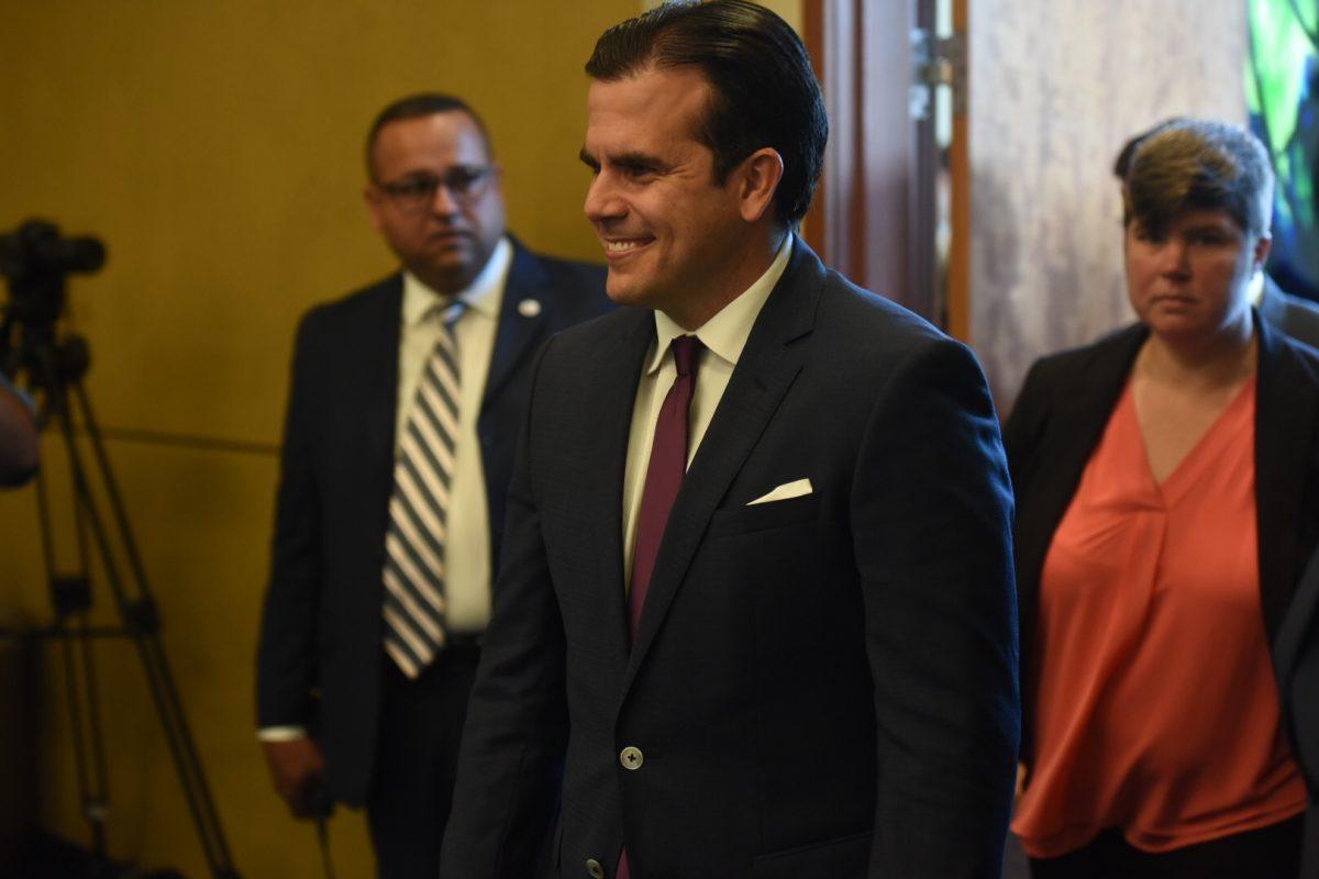 Rosselló Nevares en la sexta reunión Junta de Control Fiscal/ Dennis A. Jones/ Metro P.R.
