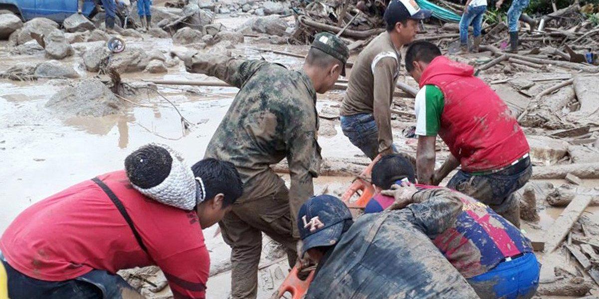 Desbordamiento de río en Colombia mata a 112 personas