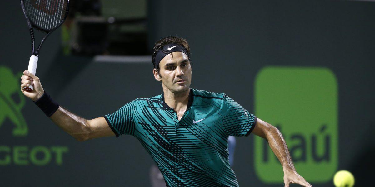 Federer y Nadal batallarán por título del Abierto de Miami