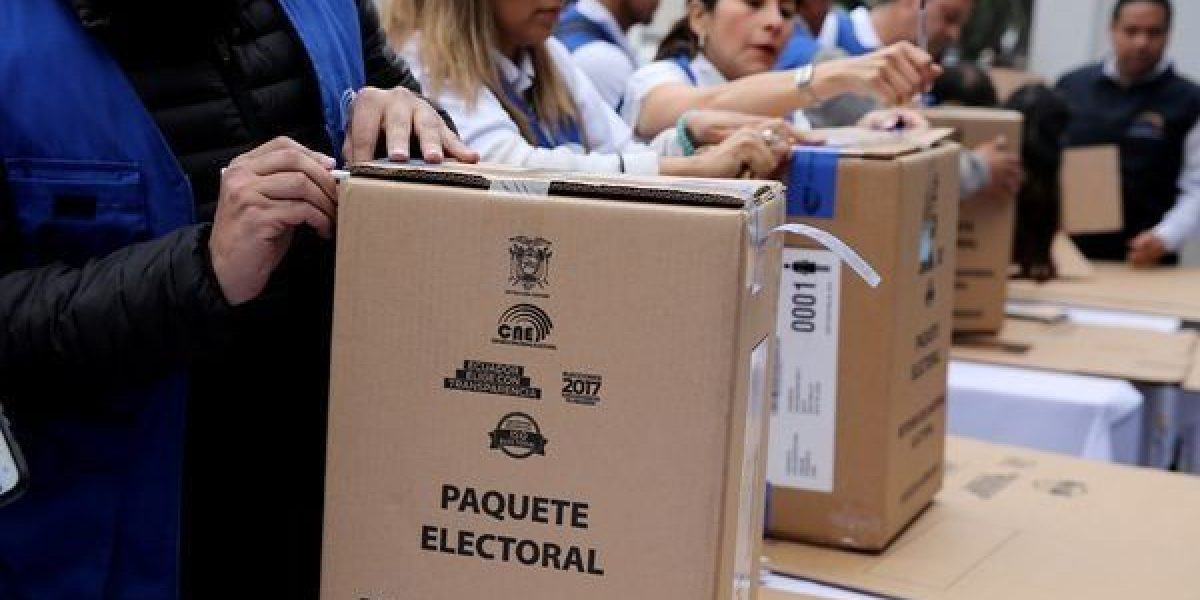 Jornada electoral para elegir sucesor de Correa en Ecuador