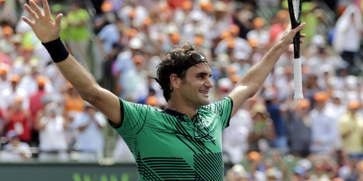 Federar doblega a Nadal y se alza con título de Miami