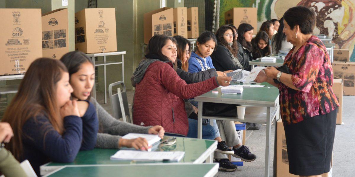 Ecuador: Resultados de exit poll de Elecciones 2017