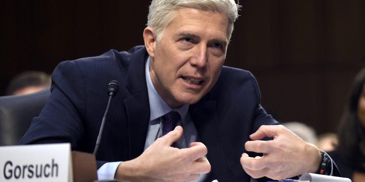 Demócratas se alinean contra nominado al Tribunal Supremo