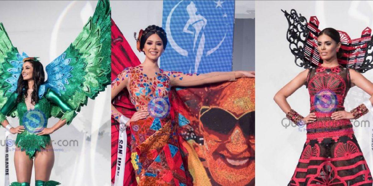 Candidatas de Miss Universe P.R. 2017 homenajean la puertorriqueñidad