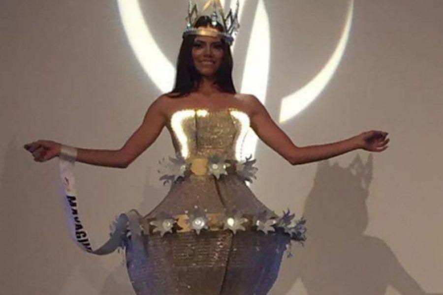763cb56712 Trajes típicos más divertidos de Miss Universe P.R. 2017