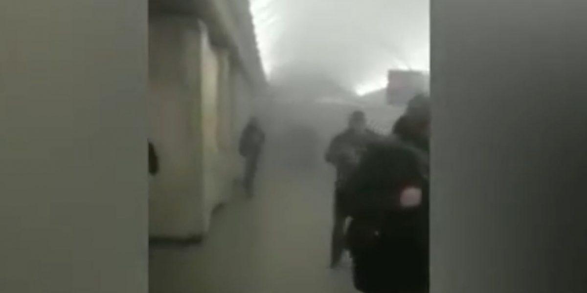 Explosión en metro de San Petersburgo deja muertos y heridos