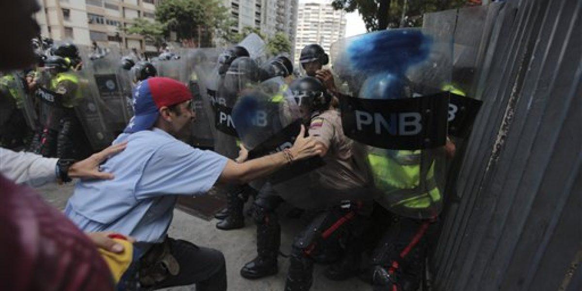 Reportan incidentes en marcha contra Tribunal Supremo de Venezuela