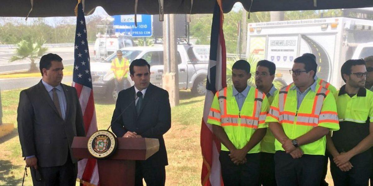 Rosselló Nevares anuncia servicio de asistencia para autopistas