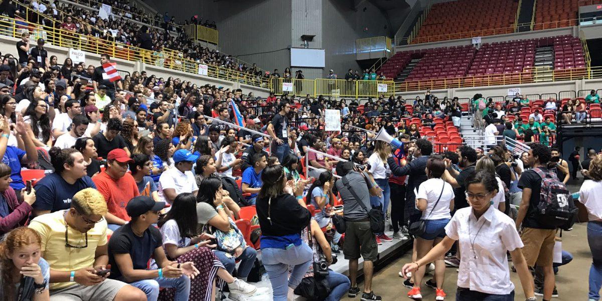 UHS participa de Asamblea Nacional de Estudiantes