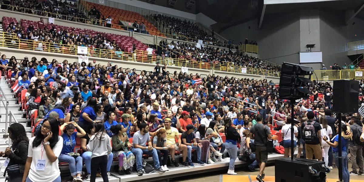 Constatan cuórum para Asamblea Nacional de Estudiantes UPR