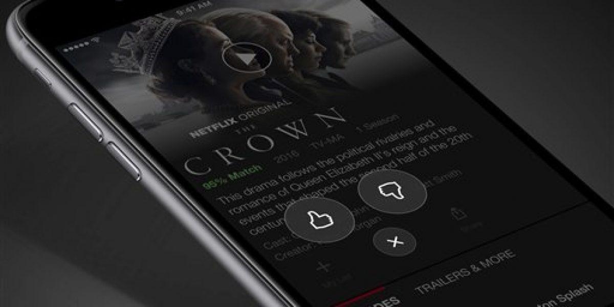 Netflix cambia pulgar por estrellas