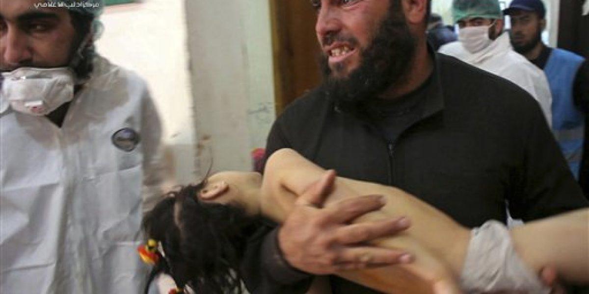 Aumenta número de muertos por ataque químico en Siria