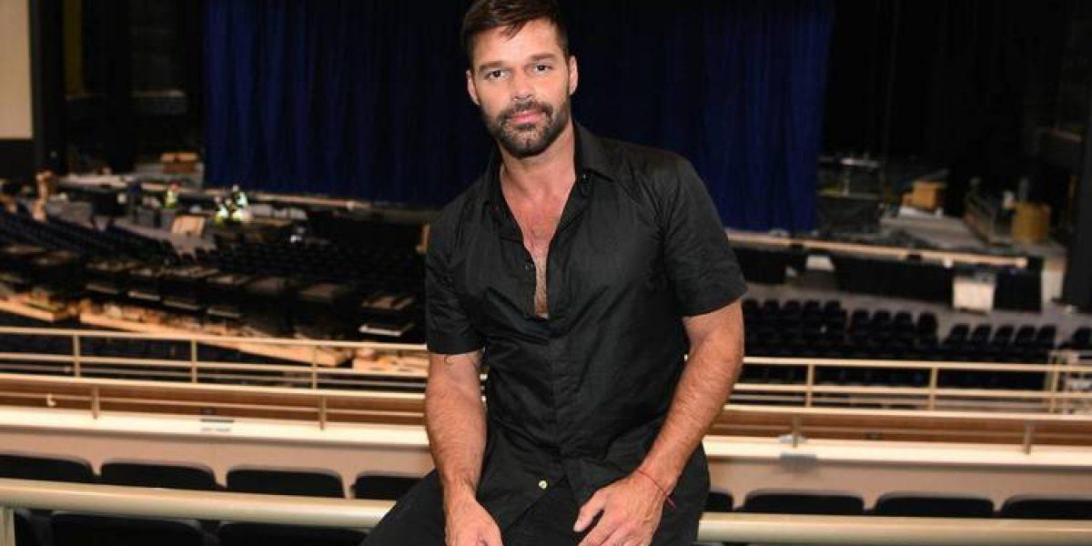 Así ensayó Ricky Martin para su concierto en Las Vegas