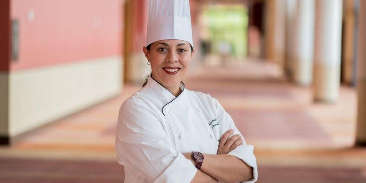Premian a chef ejecutiva del Sheraton Puerto Rico Hotel & Casino