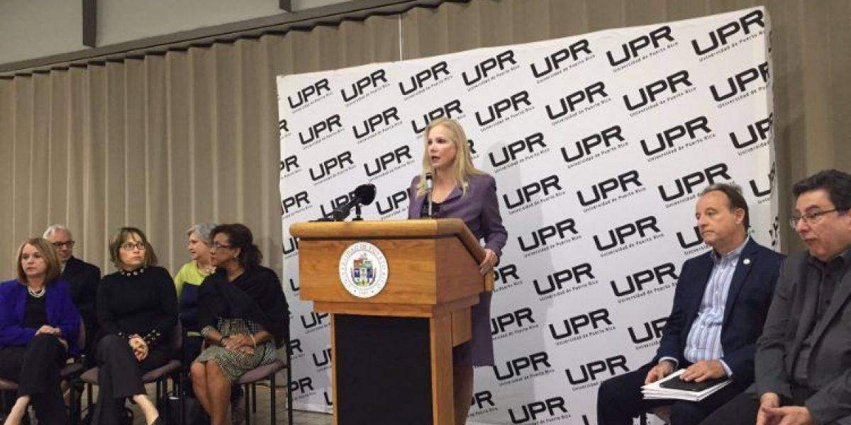 No renunciará la presidenta interina UPR