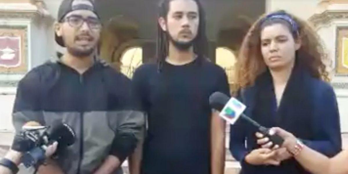 Universitarios alegan que las protestas ablandan a la Junta