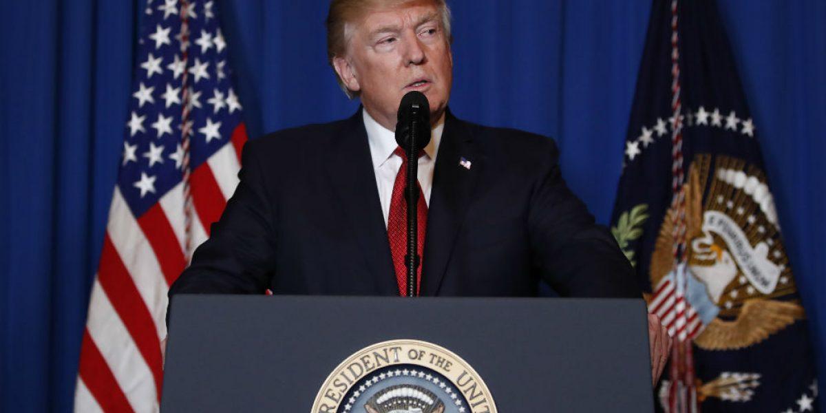Trump pide a países