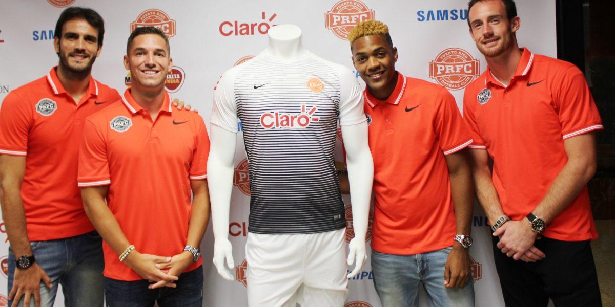 Puerto Rico FC presenta su segundo uniforme