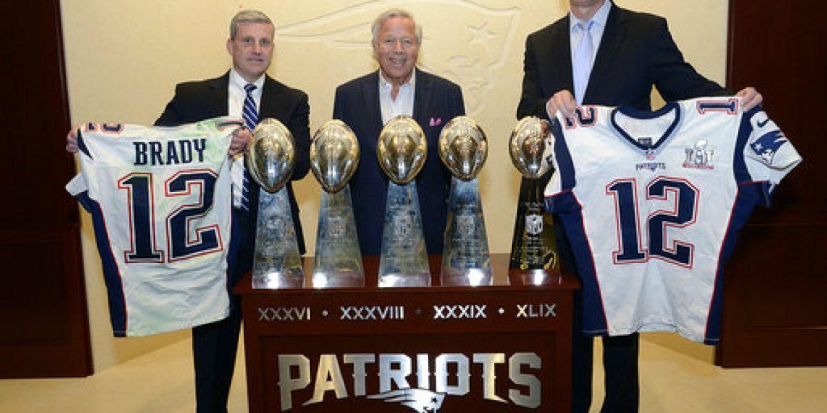 Camiseta robada de Brady será exhibida en museo