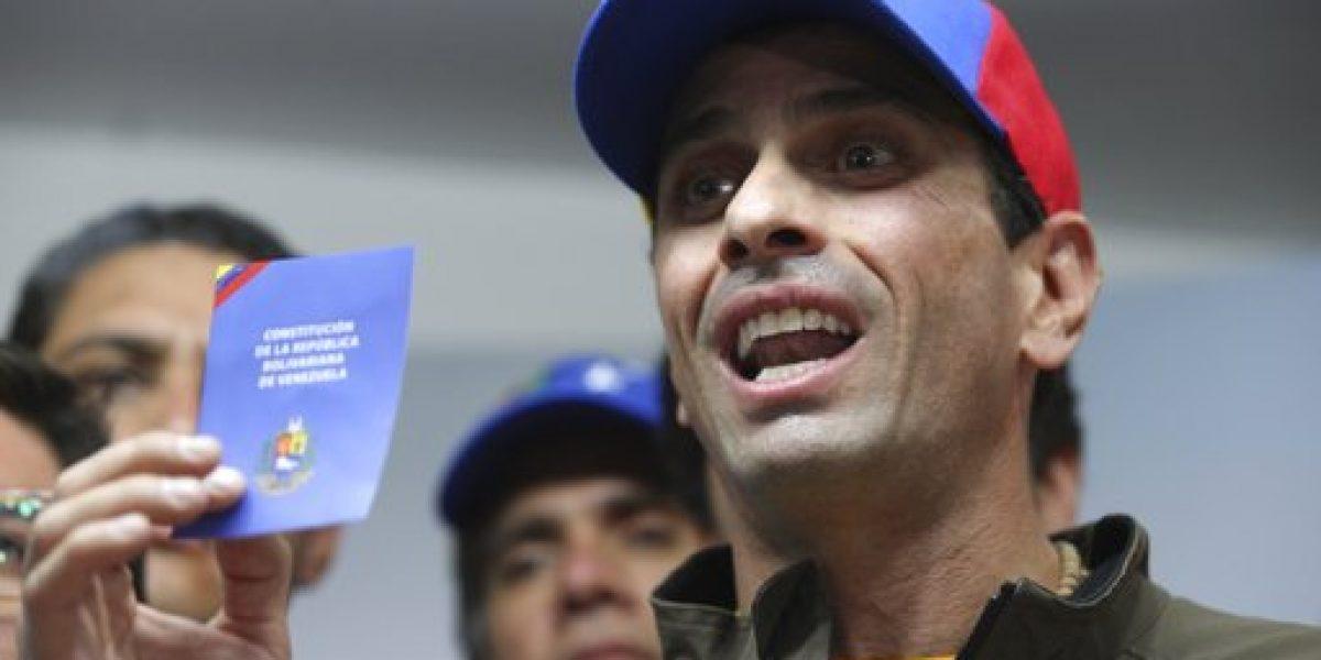 Imponen inhabilitación política a opositor venezolano Henrique Capriles