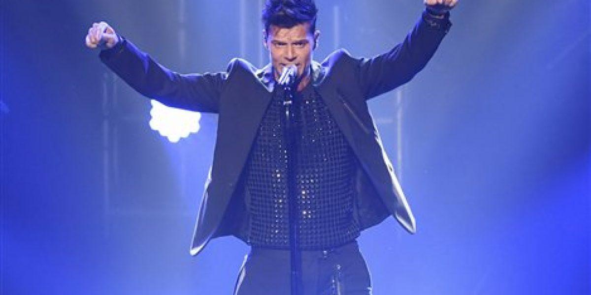 Ricky Martin admite que sintió nervios en su presentación en Las Vegas