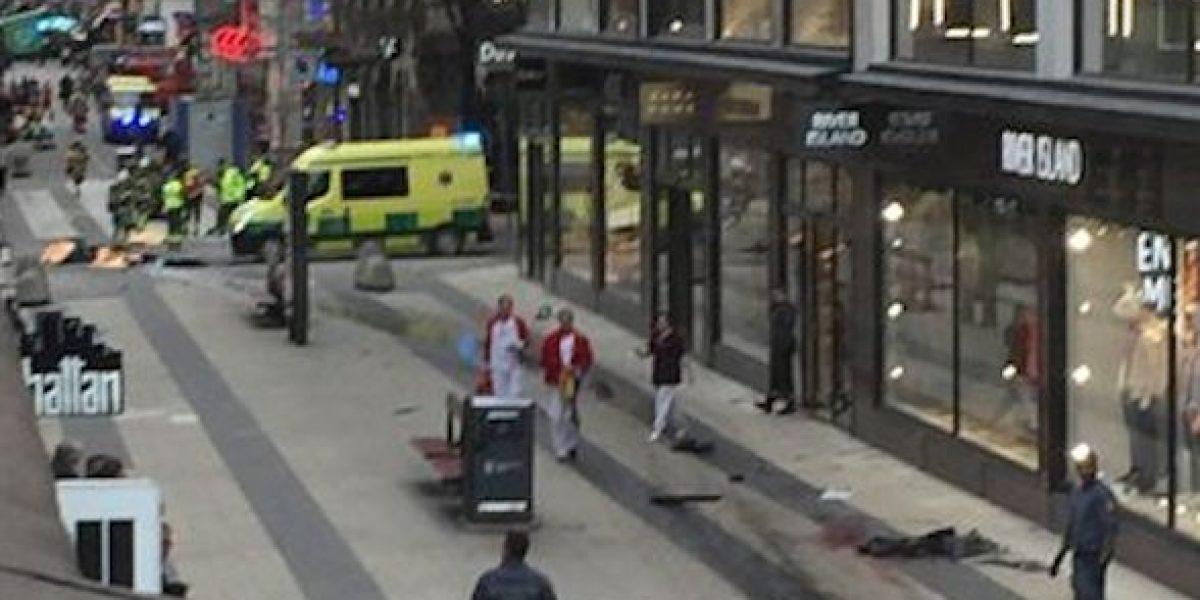 Camión de ataque en Suecia era de firma cervecera