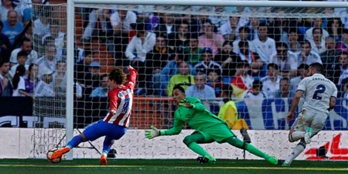 Atlético se roba un empate en el derbi ante el Madrid