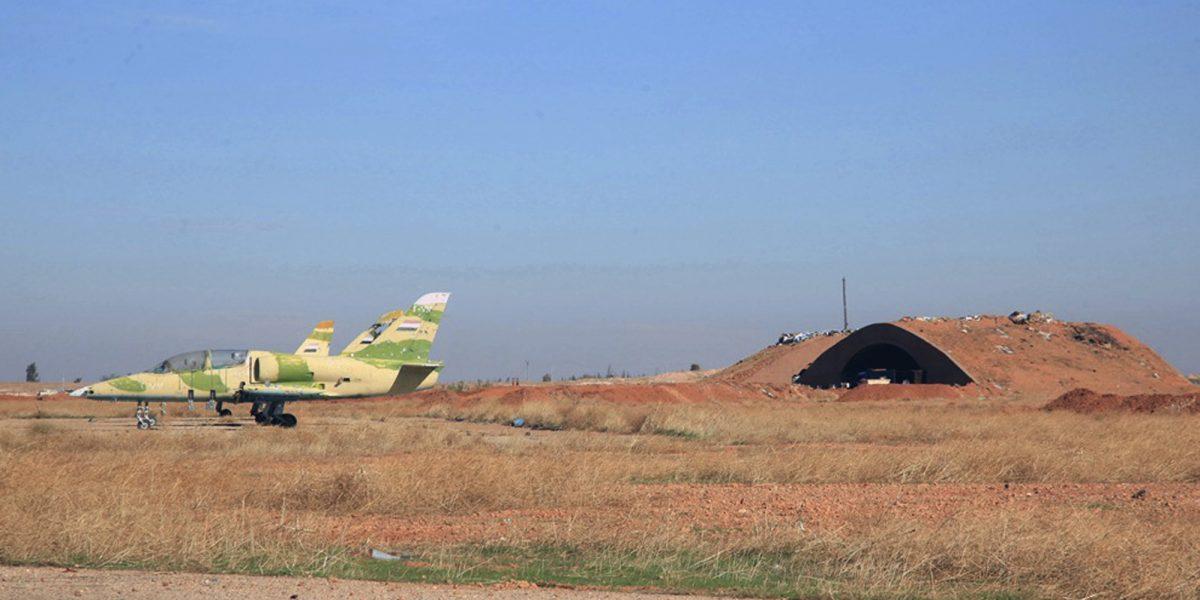 Bombardeo aéreo a la ciudad siria que sufrió un ataque químico