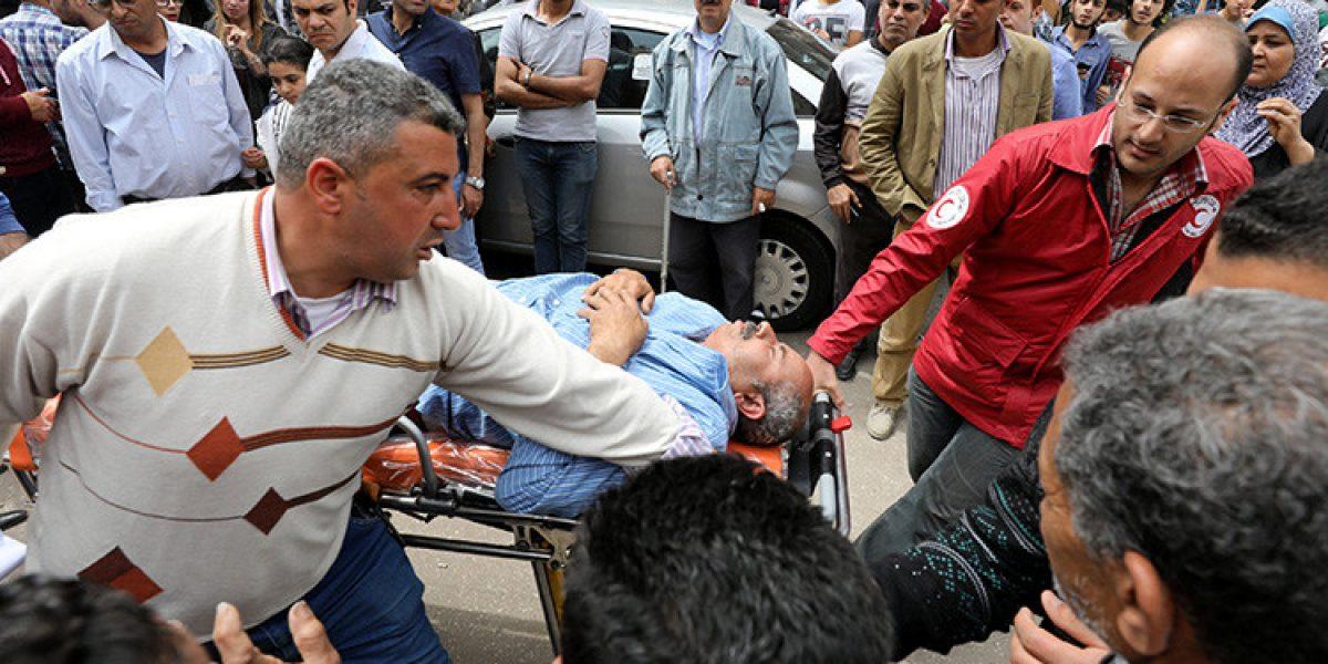 Vídeos de los momentos exactos de los atentados en Egipto