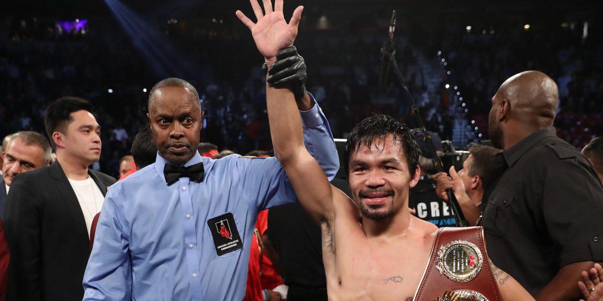 Manny Pacquiao enfrentará a invicto en julio