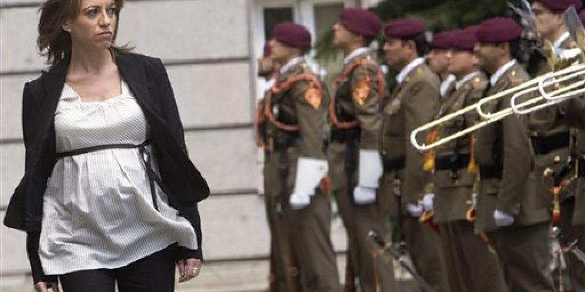 Muere primera ministra de Defensa de España