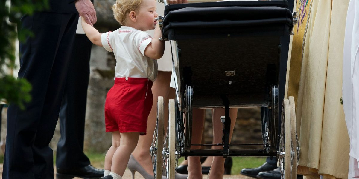 Los principes George y Charlotte de Cambridge saldrán en boda de Pippa