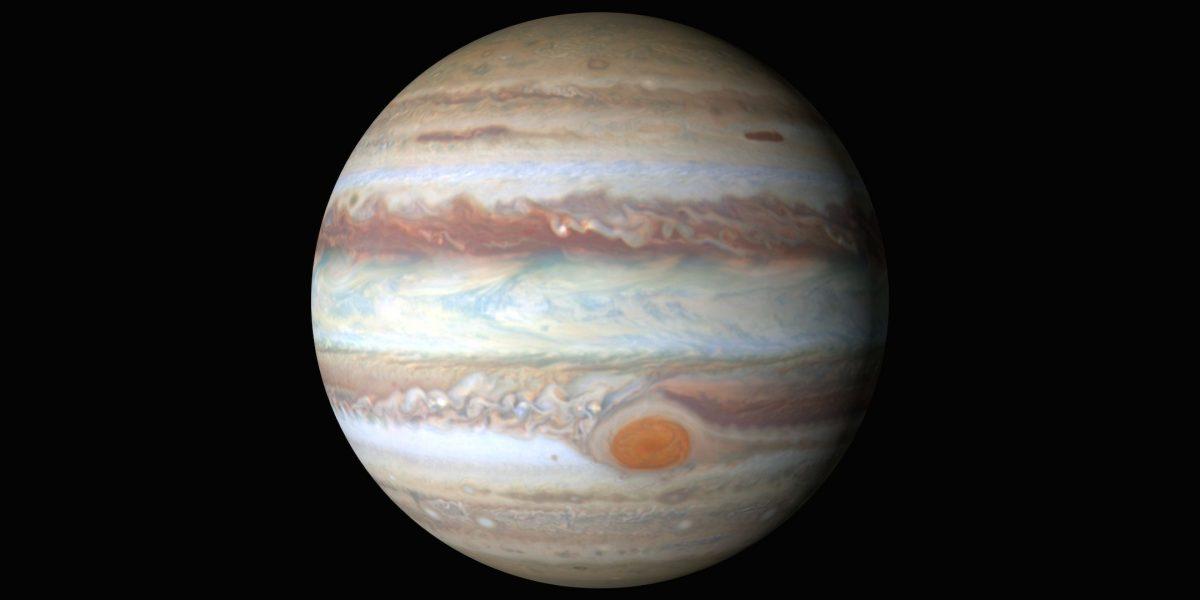 """Hallan """"Gran Mancha Fría"""" en Júpiter"""